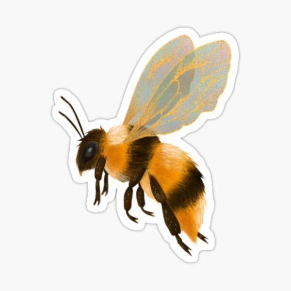 Lil' Fuzzy Bee Sticker