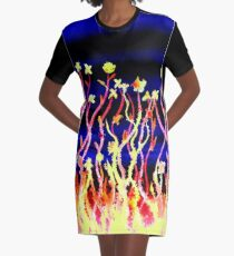 Flowers - Stand Tall Graphic T-Shirt Dress