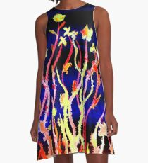 Flowers - Stand Tall A-Line Dress