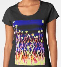 Flowers - Stand Tall Premium Scoop T-Shirt