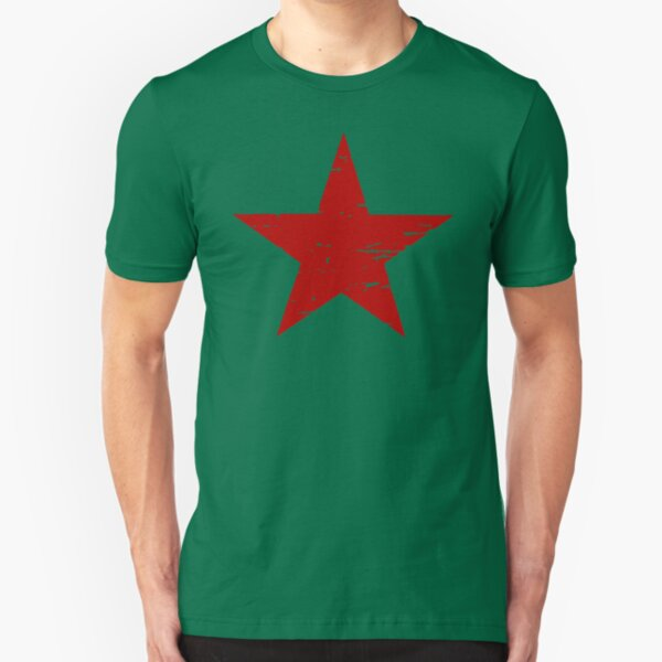 THE RED STAR Slim Fit T-Shirt