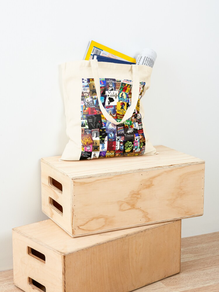 Alternate view of Musicals Collage IV  Tote Bag