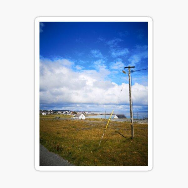 Inis Oirr, Aran Islands, Ireland Sticker