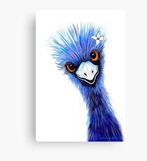 Emu Elegance Canvas Print
