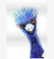 Emu Elegance Poster