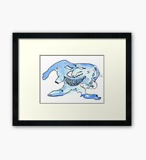 the curmudgeon Framed Print