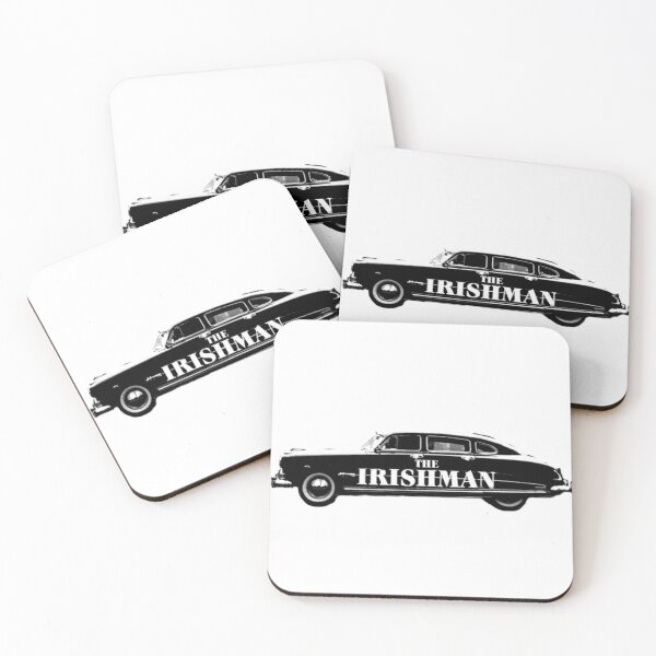 The Irishman Cadillac Coasters (Set of 4)