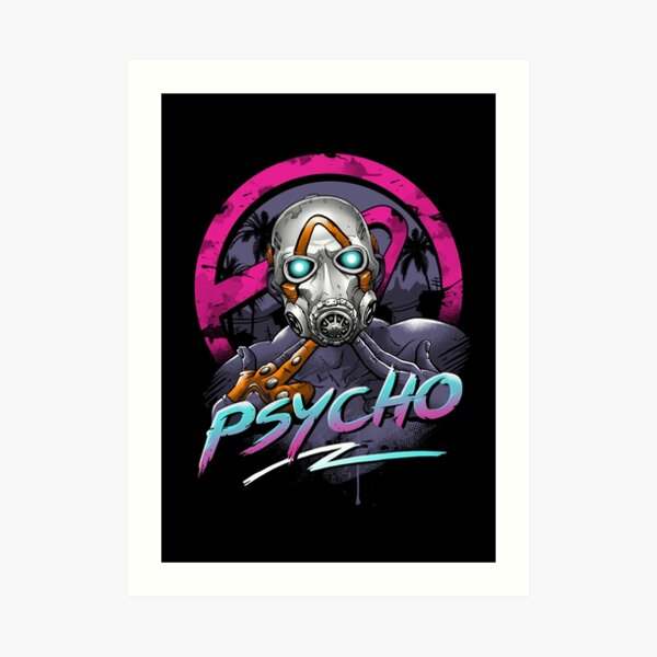 Rad Psycho Art Print
