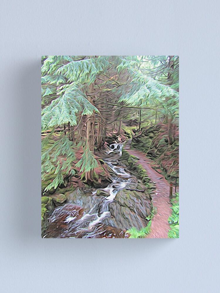 Alternate view of Puck's Glen Canvas Print