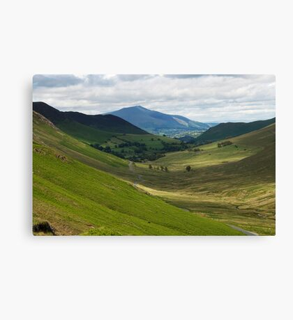 Newlands Pass Canvas Print