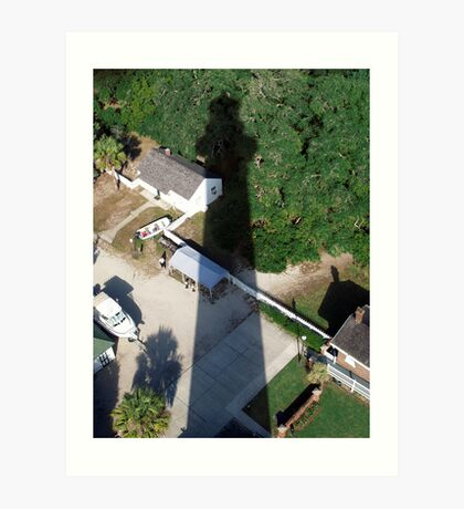 From The Top-----St. Augustine Lighthouse Art Print