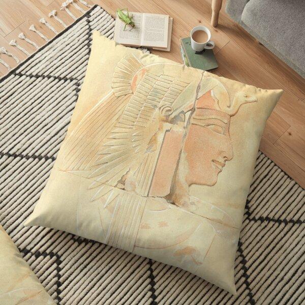 Queen Ahmose by Howard Carter Floor Pillow