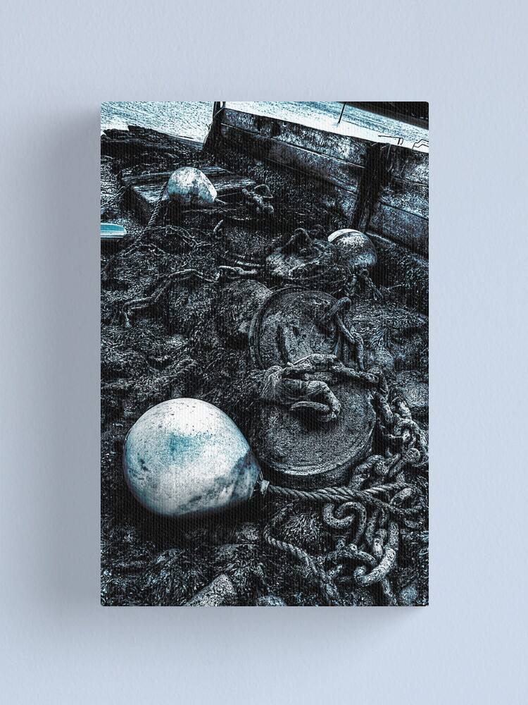 Alternate view of Old Bouys  Canvas Print