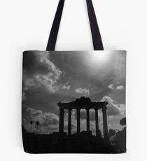 Temple of Saturn Remains Tote Bag