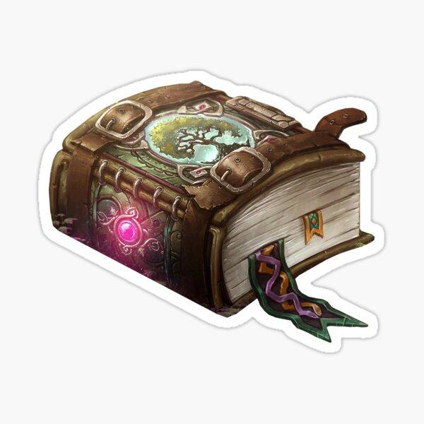 Livre de sortilèges Sticker