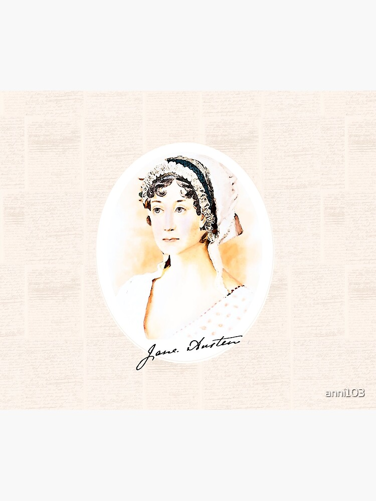 Portrait of a Lady Writer - Jane Austen by anni103