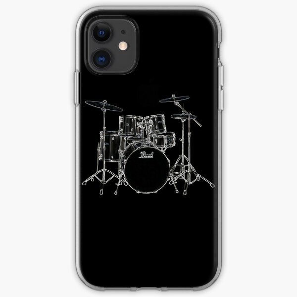 Drums iPhone Soft Case