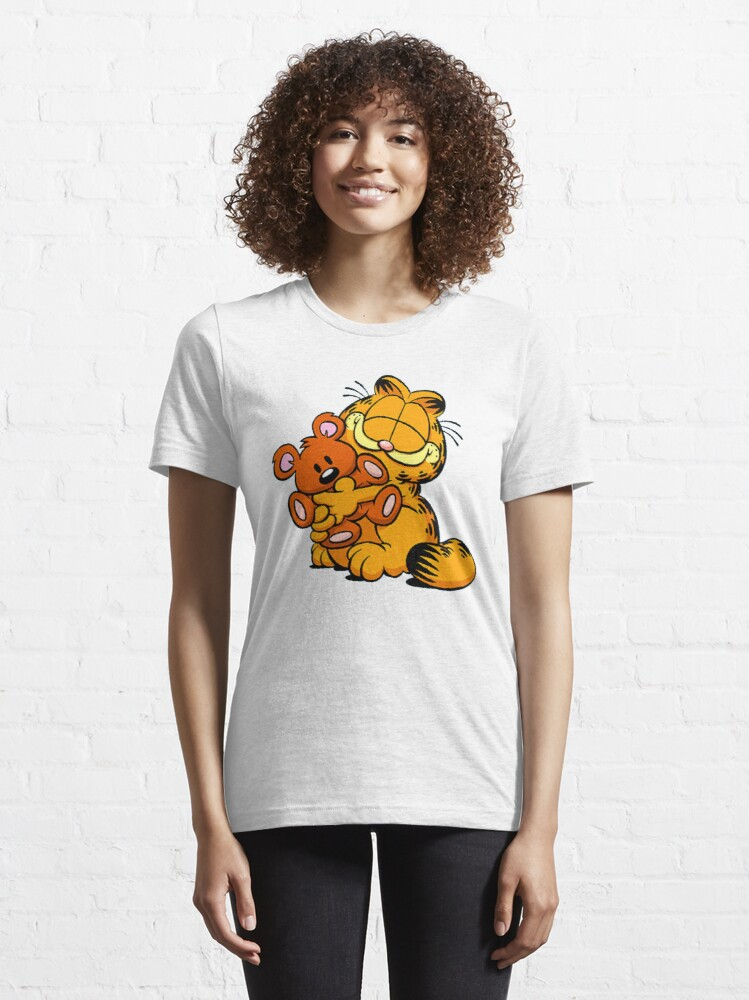 Alternate view of Garfield and his friends Essential T-Shirt