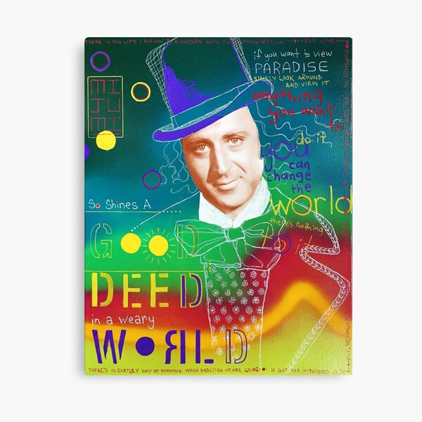 Wonka Vision Canvas Print