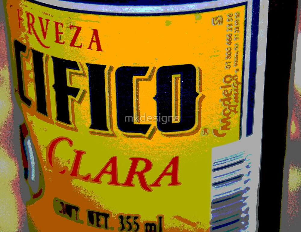 Cerveza, A Mexican Beer in Puerto Vallarta by mkdesigns