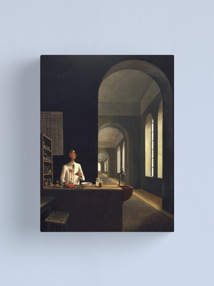 Alternate view of Franz Sedlacek - The Chemist Canvas Print