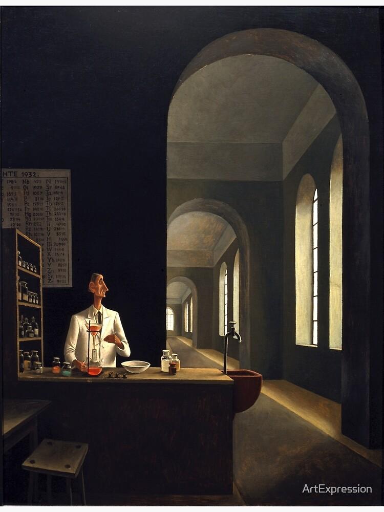Franz Sedlacek - The Chemist by ArtExpression