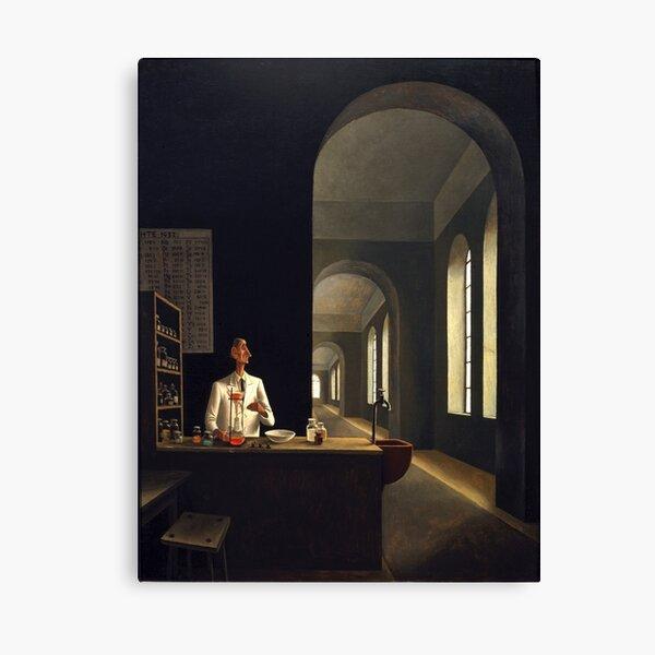 Franz Sedlacek - The Chemist Canvas Print