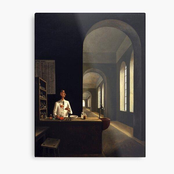 Franz Sedlacek - The Chemist Metal Print