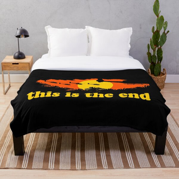 Apocalypse Now: This is the end Throw Blanket