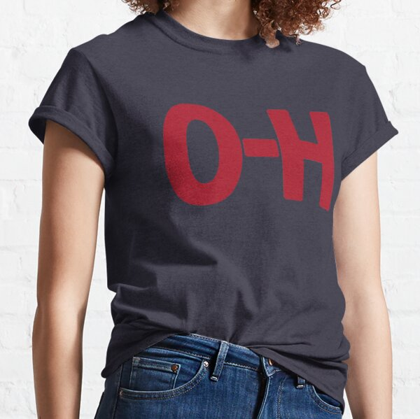 O-H State of Ohio College Matching Sports T-shirt Classic T-Shirt
