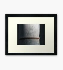 the dark side of the bamboo Framed Print