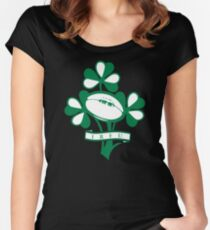 Ireland Rugby Union Women's Fitted Scoop T-Shirt