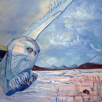 The white sage's hunt by KSArt