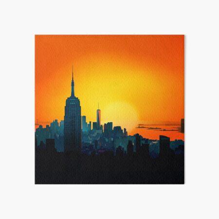 New york sunshine Art Board Print