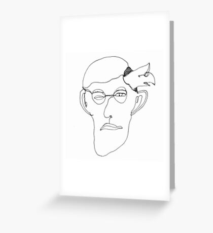 self-portrait Greeting Card
