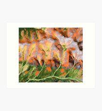 """Golden Trees""  Art Print"