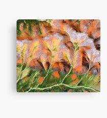 """Golden Trees""  Canvas Print"