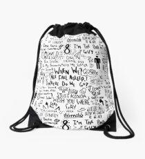 Billie Eilish Drawstring Bag