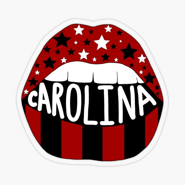 south Carolina Transparent Sticker