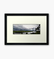 The Macleay Valley Storming Framed Print