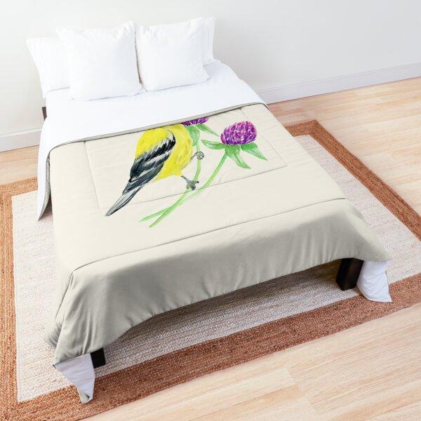 Goldfinch Comforter
