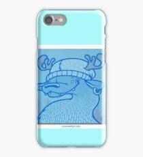 Blue Hairpin iPhone Case/Skin
