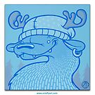 Blue Hairpin by octoflyart