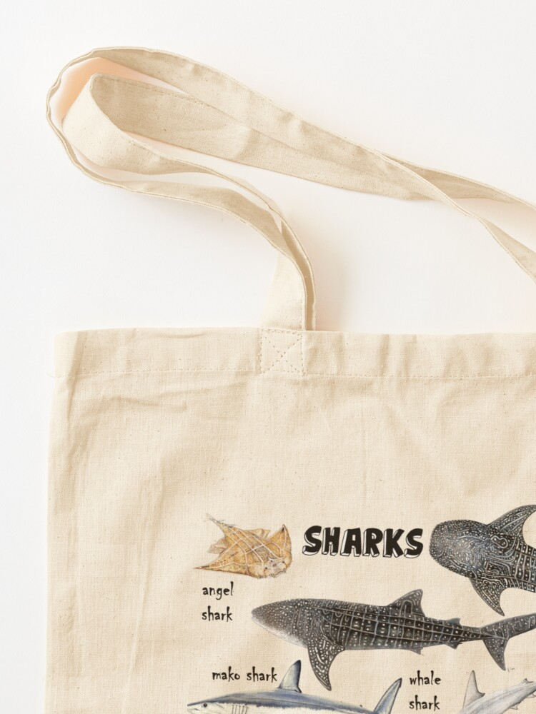 Alternate view of Sharks for shark lovers Tote Bag