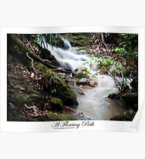 A Flowing Path Poster