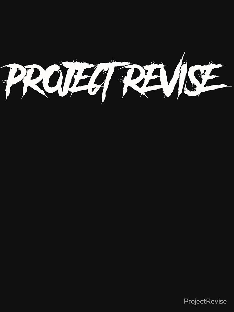 PROJECT REVISE Original Logo Design by ProjectRevise