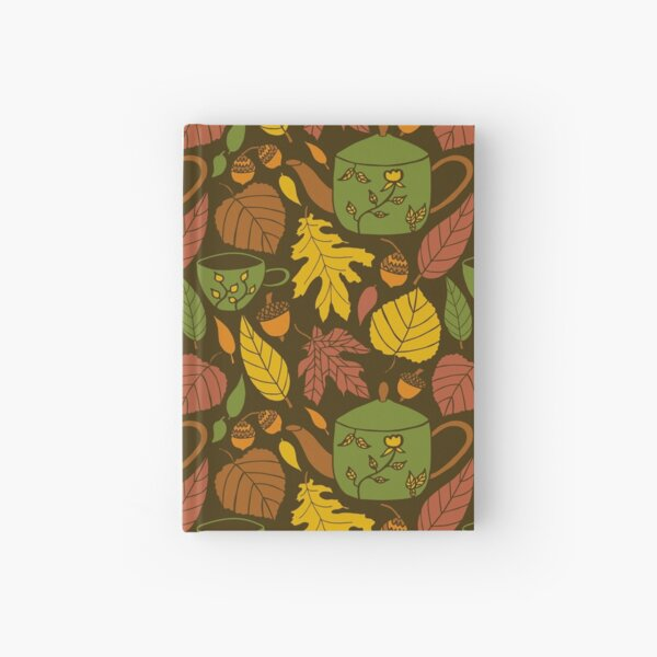 Tea and leaves Hardcover Journal