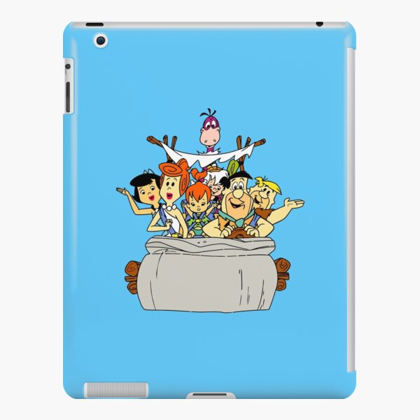 The Flintstones in the stone-car iPad Snap Case