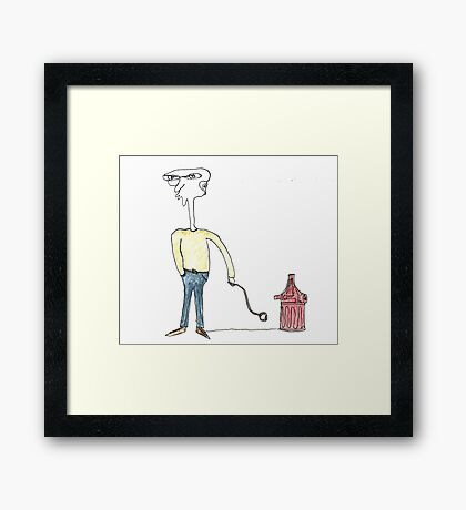 floyd and whisper Framed Print