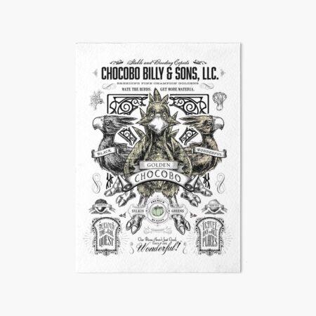 Chocobo Billy and Sons LLC Art Board Print